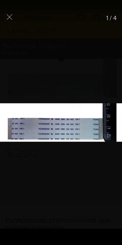 cable plano flex 17 pin