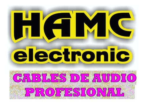 cable  plug 6,5 a plug 6,5 x 2mts fl 100 skp