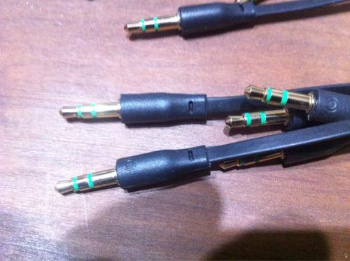 cable plug a plug estereo 3,5 mm