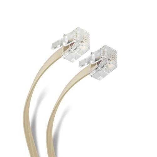 cable plug a plug rj11 de 10m, para extensión tel | 304-030