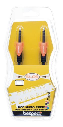 cable plug estereo a plug estereo 1 metro bespeco slss100