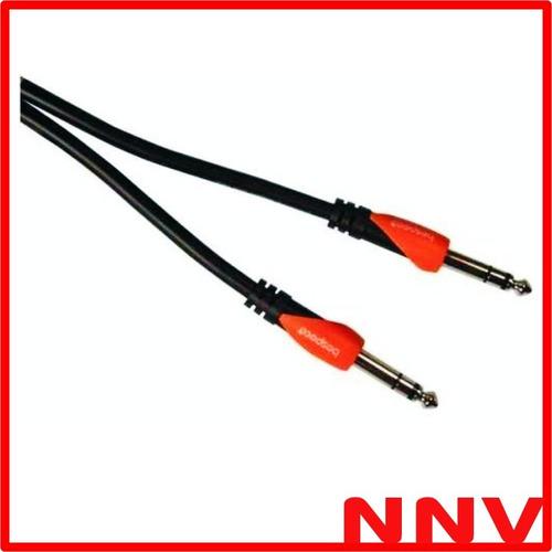cable plug estereo a plug estereo 30 cm bespeco slss030 nnv