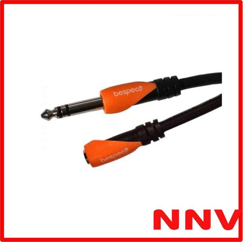 cable plug estereo jack estereo 1.8 metros bespeco slfjj180