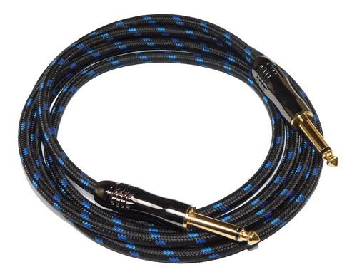 cable plug plug instrumentos profesional sin ruido hamc 3mts