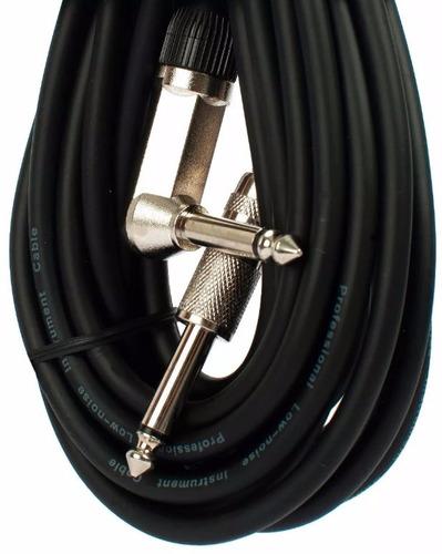 cable plug / plug  moon 3 m guitarra bajo teclado esdj