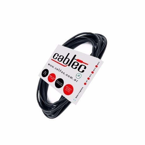 cable plug plug ts de audio cabtec neutrik rean 25cm