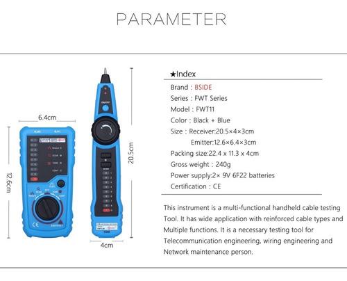 Cable Port til Multifuncional Tester Tracker L nea Bus