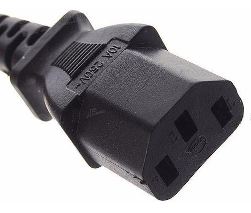 cable power interlock alimentación 220v normalizado fuentes