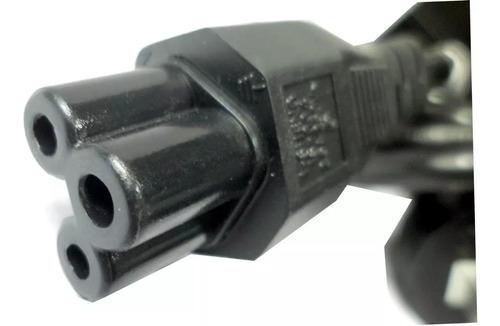 cable power trebol a 3 patas 220v 1.5 mts reforzado slot one