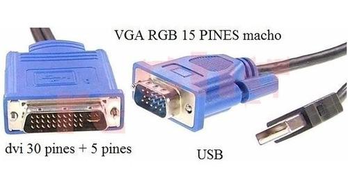 cable proyector infocus lp540 lp600 lp630 lp640 lp70 usb m1