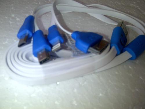 cable pulpo para teléfonos varias adaptaciones