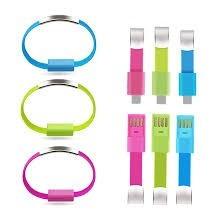 cable pulsera usb para samsung varios colores