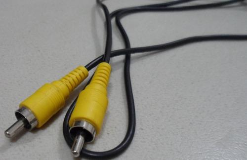 cable rca 3 plug macho a macho audio y video 80 cm env grat