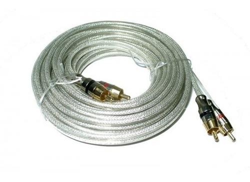 cable rca alta calidad hq 2 rca 3mts apto tv video audio