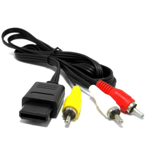 cable rca av super nintendo gamecube snes n64 full