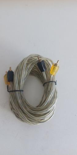 cable rca de 4.5mts transparente de alta calidad al mayor
