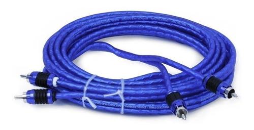 cable rca de audio 2 canales stinger serie 6000 0.9m si623