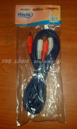 cable rca hwin 1.8 metros ( excelente calidad)