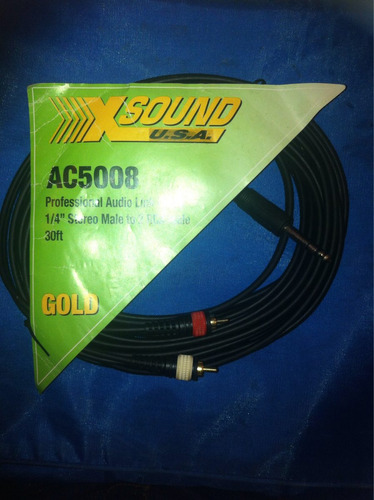 cable rca profesional