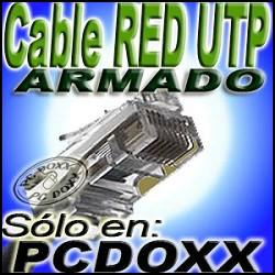cable red 30 mts utp rj45 cruzado directo crossover paralelo