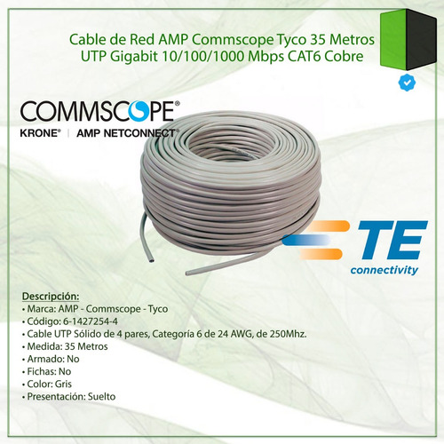 cable red metros utp