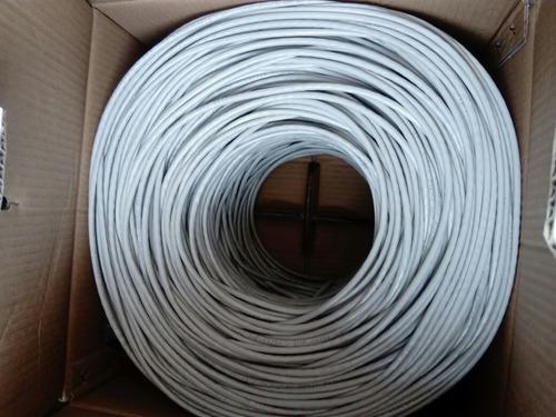 cable red utp categoria 5e caja 305 metros anera red camaras