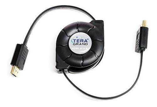 cable retractil hdmi de alta velocidad tera grand premium, 4