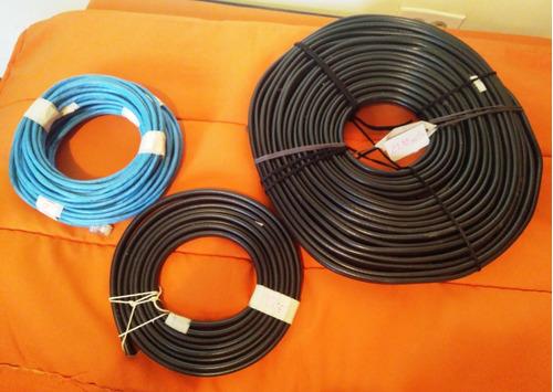 cable rg6 fortrex para instalación direc. tv por mts