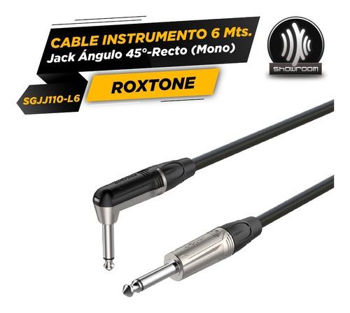 cable roxtone plug plug 90 grados 6 metros sgjj110l6