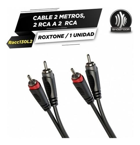 cable roxtone rca rca 2 metros racc130l2