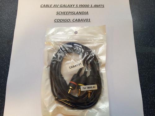 cable salida de av para galaxy s i9000 cabav01