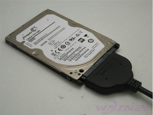 cable sata a usb 3.0 adaptador disco duro laptop 2.5 envio g