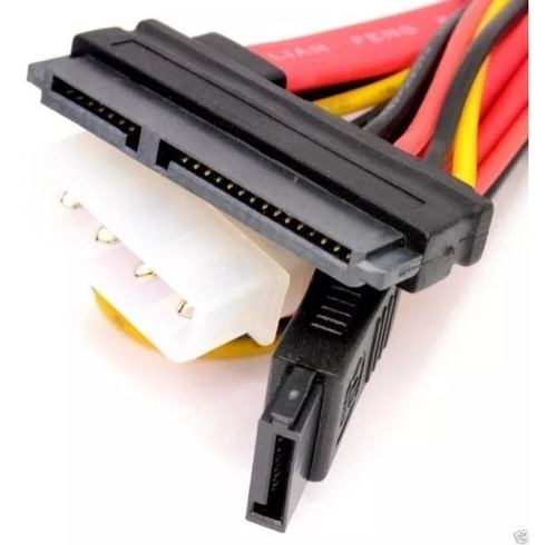 cable sata datos power 22 pines h a sata datos ymolex 25cm