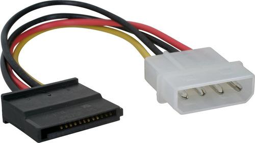 cable sata de alimentacion / corriente dracma - calidad a++