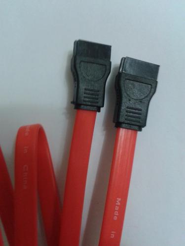 cable sata de datos + sata de poder, disco duro