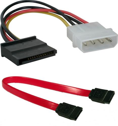 cable sata y cable sata de poder kontroltek