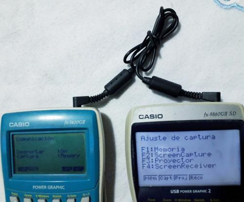 cable sb-62 para casio serie-fx