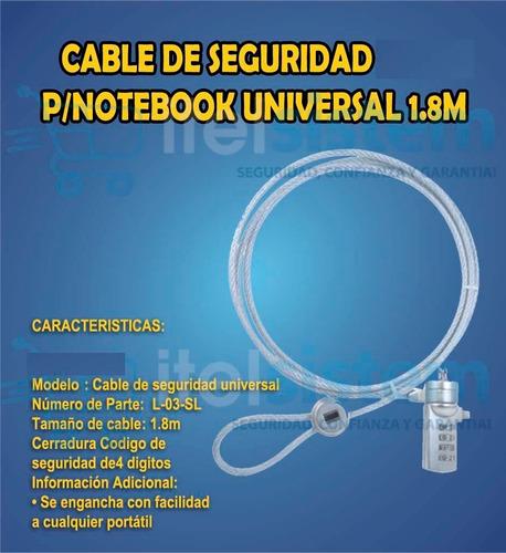 cable seguridad para
