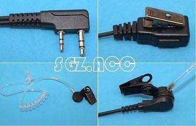 cable seguridad vigilancia 2 kit auriculares auricular radio