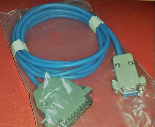 cable serial data impresora epson tm-u220/pf220 1.5 db9 db25
