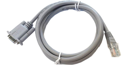 cable serial db-9 rs232 a rj45 m 1.5 mts redondo jz+ tz+