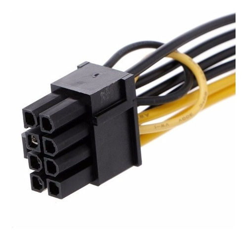 cable single sata a pcie 6+2 8 pin tjeta video treo 2 cables