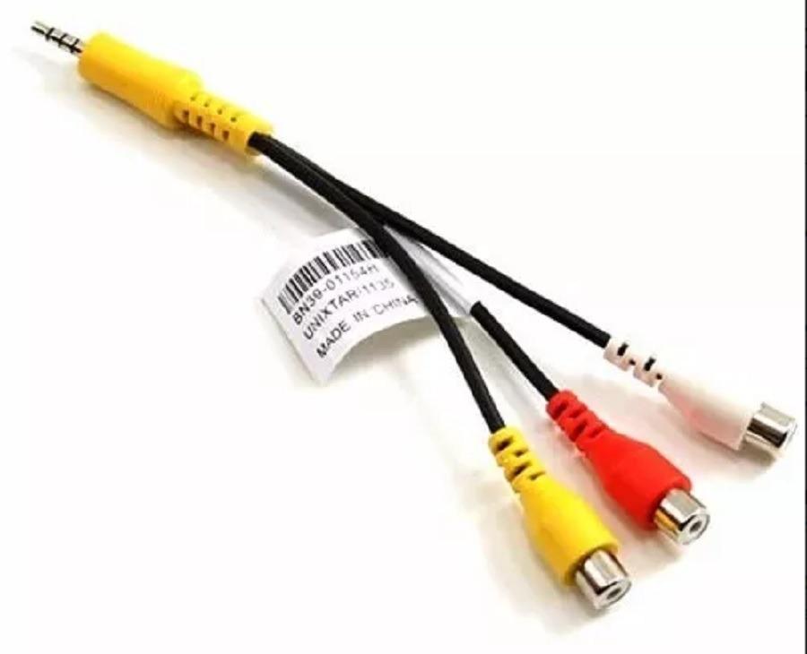 85d530f61fd cable smart tv samsung 3,5mm 3 rca audio video compuesto. Cargando zoom.