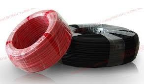 cable solar para paneles fotovoltaicos rollo 50mt cal 10awg