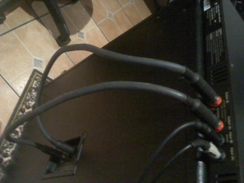 cable speaker. amplificador a gabinete.