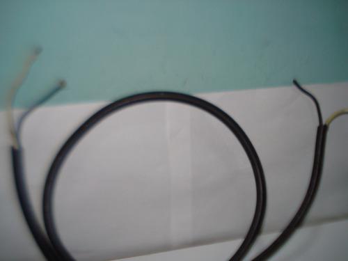 cable st 2x14 600v awg (1,40mts) (usado)