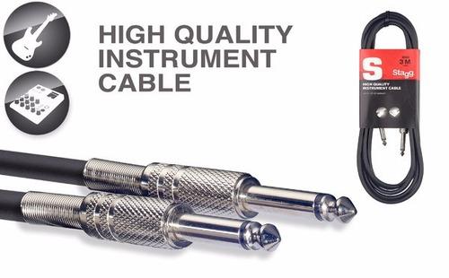 cable stagg plug plug de 1,5 metros