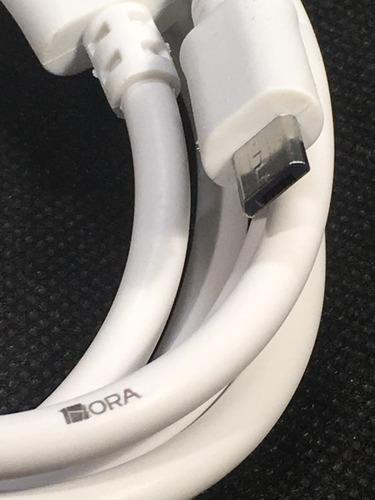 cable stela 1hora micro usb 2.0 v8 android rudo carga rapida