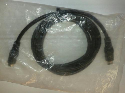 cable super video mini din 4 pines 1.5 mt