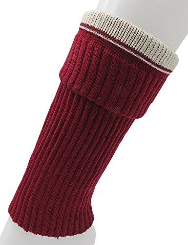 gama completa de artículos textura clara nuevo alto Cable Tejer Pierna Calentadores Croché Calcetines Para Mujer